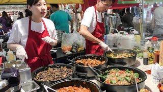 "Korean Rice Bowl ""bibimbap"" Seen and Tasted in Brick Lane. London Street Food"