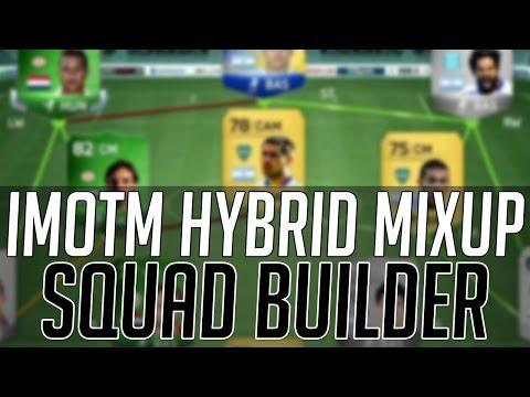 THE iMOTM HYBRID SQUAD with EREDIVISIE + PRIMERA A | FIFA 14 Ultimate Team Squad Builder