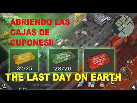Abriendo cajas de los CUPONES! - The Last Day on Earth