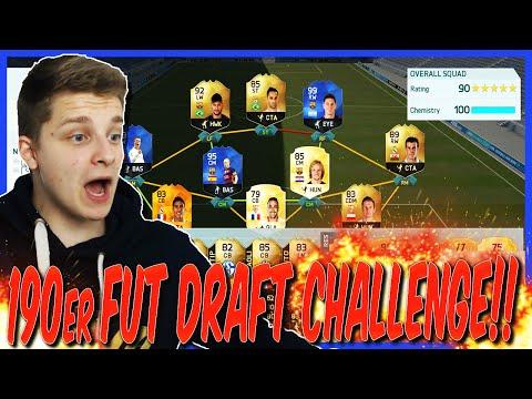 FIFA 16: 190 RATED FUT DRAFT CHALLENGE!! (DEUTSCH) - ULTIMATE TEAM - SCHLIMMSTE CHALLENGE EVER!!