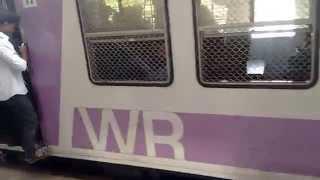 Mumbai Local Train ||  Rare Sight Of Empty Train In Mumbai India 2015