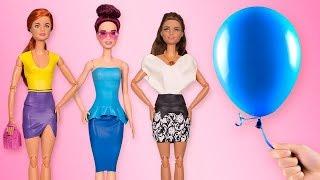 Um vestido da Barbie em 5 minutos? Um tutorial passo a passo