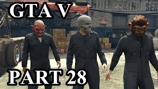Grand Theft Auto V (GTA V) Gameplay Walkthrough (PS4 Pro) - Part 28 - Blitz Play