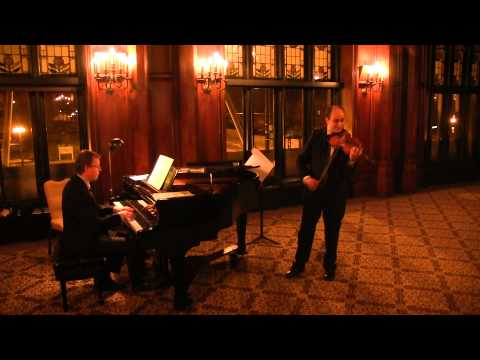 David Yonan and Steven Greene- Paganini Caprices with Robert Schumann Accomapniment