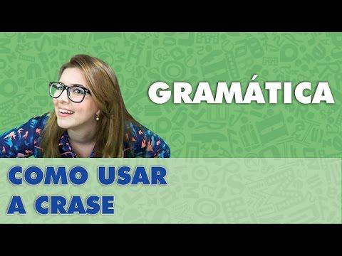 Prof. Pamba: Como eu uso a CRASE? - Dicas de Gramática #2