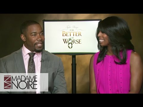 Tasha Smith & Michael Jai White Share Crazy Dating Stories video