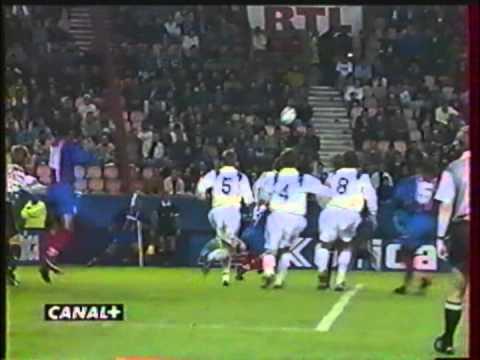 1995 September 28 Paris St Germain France 3 Molde Norway 0 Cup Winners Cup