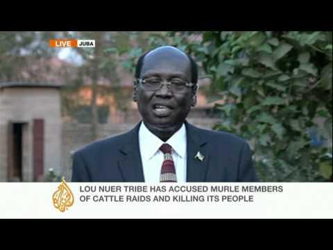South Sudan Minister talks to Al Jazeera