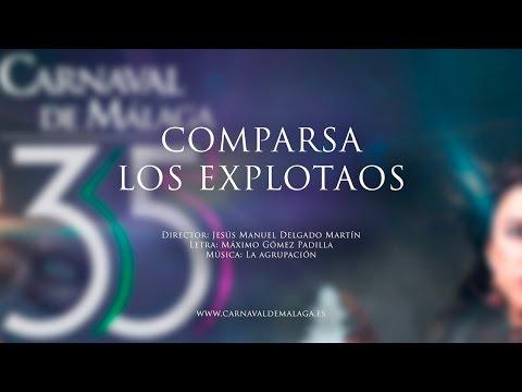 """Carnaval de Málaga 2015 - Comparsa """"Los explotaos"""" Preliminares"""
