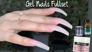 Gel Nails Tutorial Step by Step | Mia Secret Formagel | Long Gel Nails