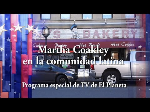 Martha Coakley in Chelsea, MA