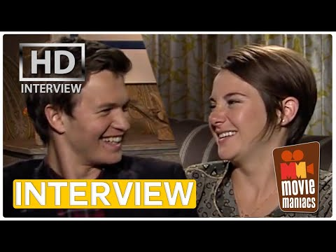 The Fault In Our Stars | Shailene Woodley & Ansel Elgort Exclusive Interview