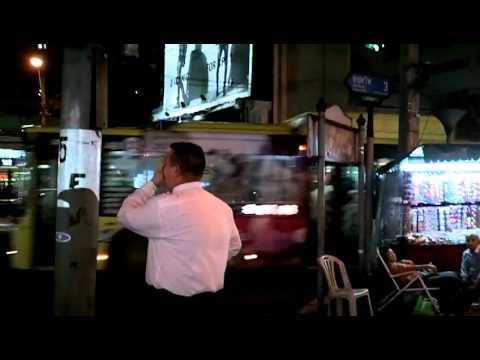 Crazy white dude near Nana Plaza, Bangkok
