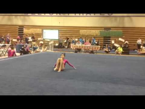 Linnea's 9.55 Xcel Floor routine