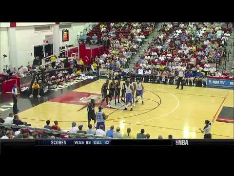 Jeremy Lin vs. John Wall - Mavs vs. Wiz Summer League 2010 Highlights