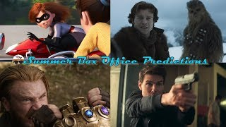 Summer Box Office Predictions | Top 10