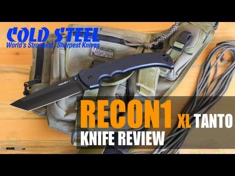 Cold Steel Recon 1 XL Tanto (Bigger is Better!)   OsoGrandeKnives