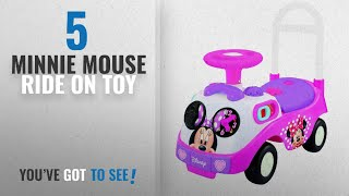 Top 10 Minnie Mouse Ride On Toy [2018]: Kiddieland My First Minnie Ride On