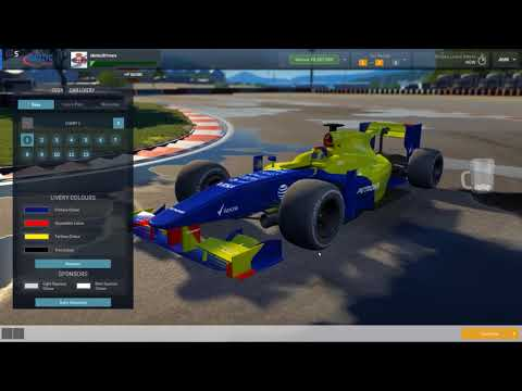 Idiotically Playing Motorsports Manager FIRE17 New Team From F3-F1 (Y09E01) Pre-Season Finally F1