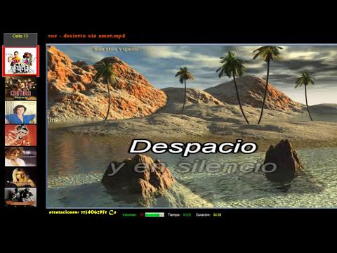 Programa de Karaoke que reproduce videos de varios formatos, .Kar, Mp3 + .Cdg, .Bin