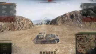 VK 45.02 (P) Ausf. B, Эль-Халлуф, Встречный бой