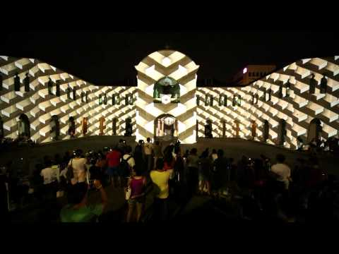 Panasonic Projector: Singapore Night Festival 2013