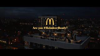 McDonald's UK Christmas 2018 TV Advert #ReindeerReady