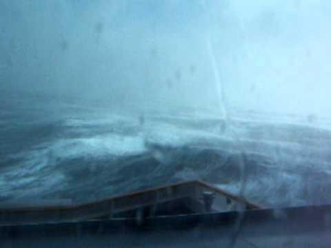 Holland America Ms Veendam Cruise Ship In Storm 12 12 10 Youtube