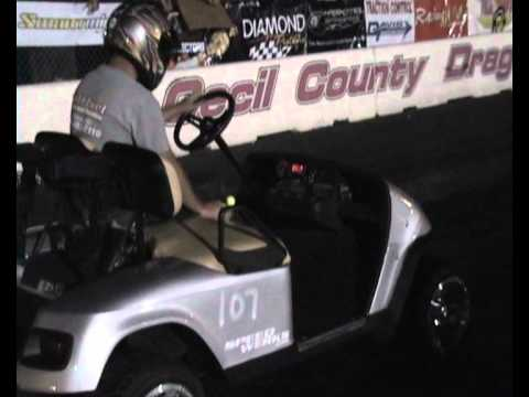 YB Outlaw Golf Cart QUALIFY 9-4-2011 1ST-2ND.wmv