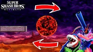 Super Smash Bros. Ultimate - Who Can Go Around the Lava Planet?