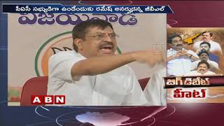 ABN Big Debate Heats up Politics in AP | CM Ramesh Vs GVL Narasimha Rao