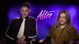 Hero Fiennes Tiffin & Josephine Langford Interview: After