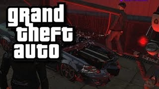 GTA Funny Moments and Stuff 50! (Transformer Garbage Trucks and Upside Down Glitch!)