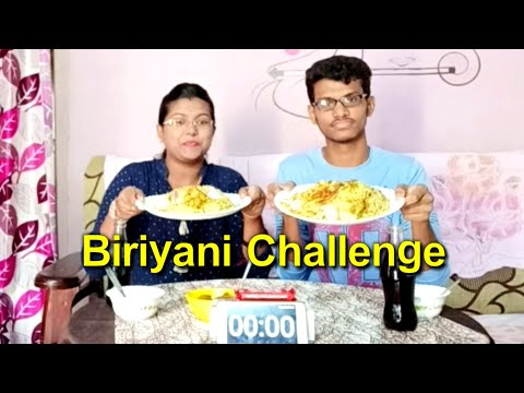 My first food challenge in telugu || challenge with brother