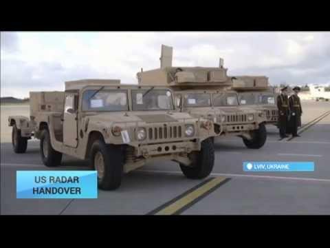 US Radar Handover:  US hands over advanced radar systems to Ukraine