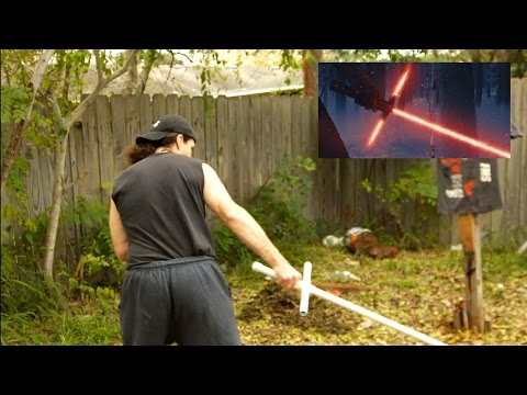 Star Wars: Episode VII Lightsaber Crossguard Tested - Is It Dangerous? Viewer Reply!
