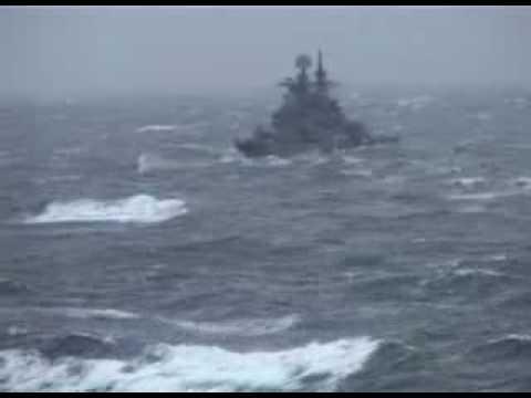 ТАВКР «Адмирал Кузнецов» Дальний поход Атлантика