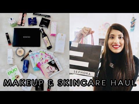 MAKEUP & SKINCARE HAUL - Sephora, Nykaa, Etc. | Tanisha Aggarwal