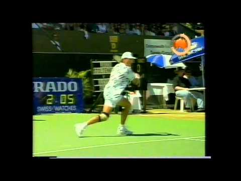 Lleyton Hewitt vs. Jason Stoltenberg (Adelaide 1998 / First Title 16 years)