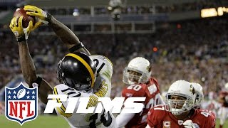 #3 Santonio Holmes TD Catch in Super Bowl XLIII   Top 10 Greatest Catches of All Time   NFL Films