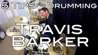 Download Lagu 5 Tips for Drumming Like Travis Barker Gratis STAFABAND