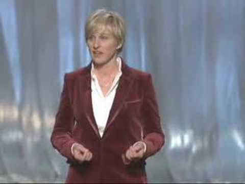 Ellen's Oscar monologue