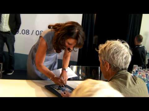 Pierce Brosnan e Susanne Bier a Venezia 69