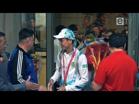 Карагандинские спортсмены привезли два золота с юношеской Олимпиады