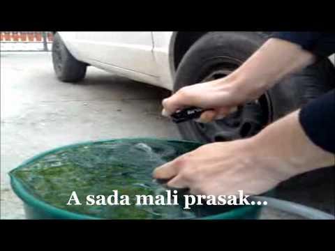 Komsija pravi auto na vodu...