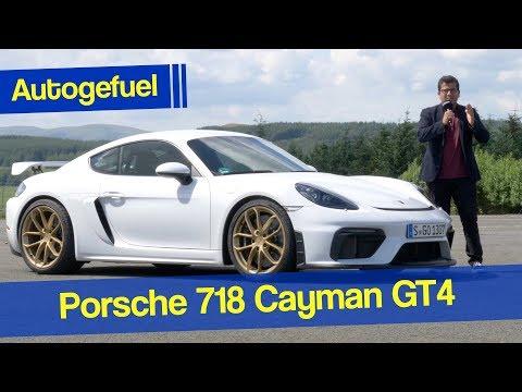 2020 Porsche 718 Cayman GT4 REVIEW - the sportiest Porsche?