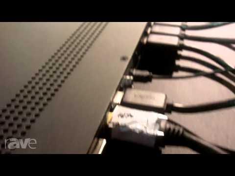 CEDIA 2013: DVDO Presents the Matrix6 6X2 4K Matrix Switch