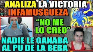 """KINGTEKA ANALIZA LA VICTORIA DE INFAMOUS Y HABLA DEL PASADO DE SIDERAL """"ESE WEON ERA RECIO""""   DOTA 2"""