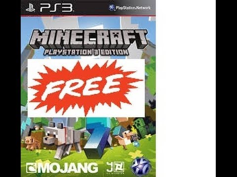 HOW TO GET MINECRAFT FREE ON PS3!