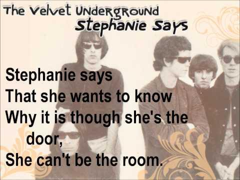 Velvet Underground - Stephine Says